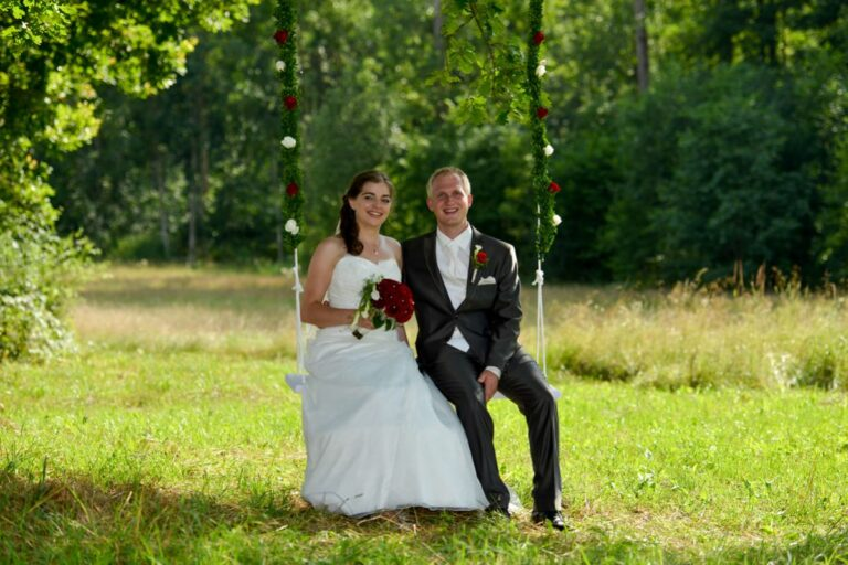 After wedding shooting Langenburg