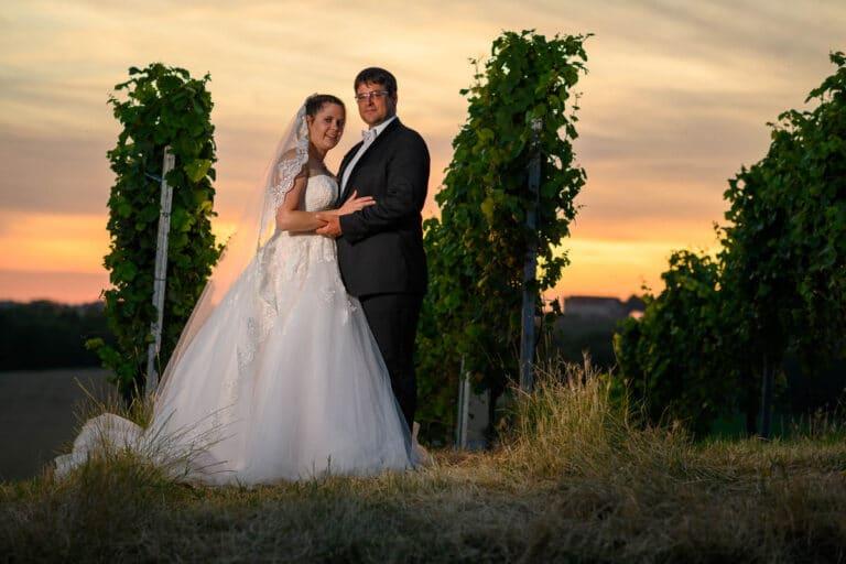 After-wedding-Shooting auf der Waldheide